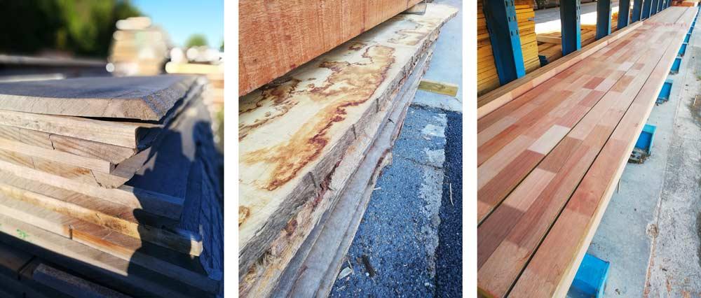 Fournisseurs de bois et de métaux